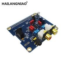 HAILANGNIAO פטל pi 2 I2S ממשק מיוחד HIFI DAC אודיו כרטיס קול מודול PIFI DAC + V2.0