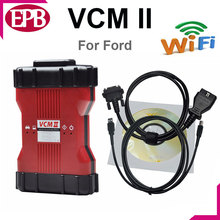 High Quality VCM2 Diagnostic For Ford with wifi VCM II IDS Support for Ford Vehicles IDS VCM 2 OBD2 Scanner Free shipping