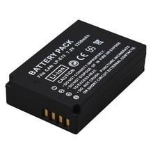 Hot Sale 1250mAh LP-E12 LPE12 LP E12 Camera Battery For Canon EOS 100D Kiss X7 Rebel SL1 EOS M10 DSLR Battery