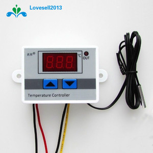 Image 2 - 220V 10A Digital LED Temperature Controller XH W3001 For Arduino Cooling Heating Switch Thermostat + NTC Sensor