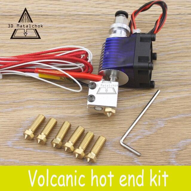 3D Printer accessories parts 12V/24V Volcano kit J head Hotend for