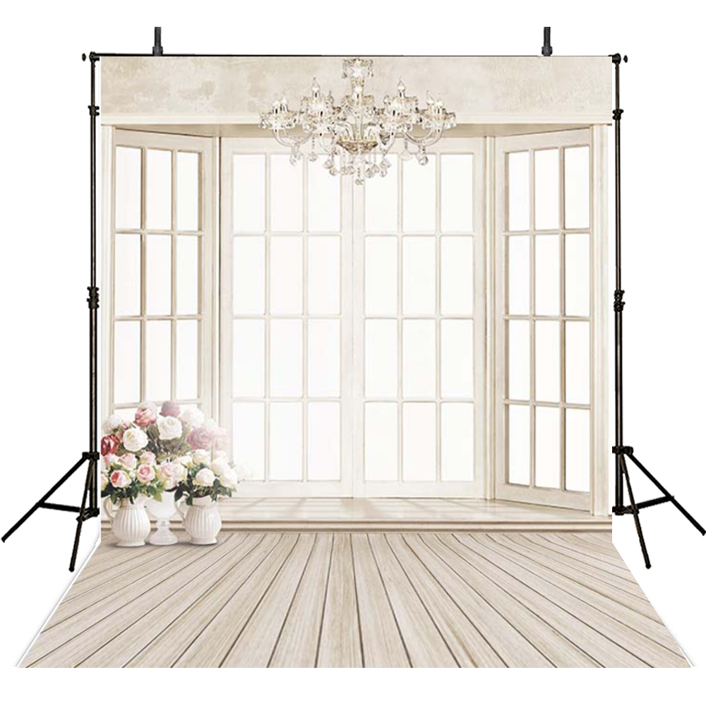 Window Photography Backdrops Wedding Vinyl Backdrop For Photography Ivory Background For Photo Studio Foto Achtergrond