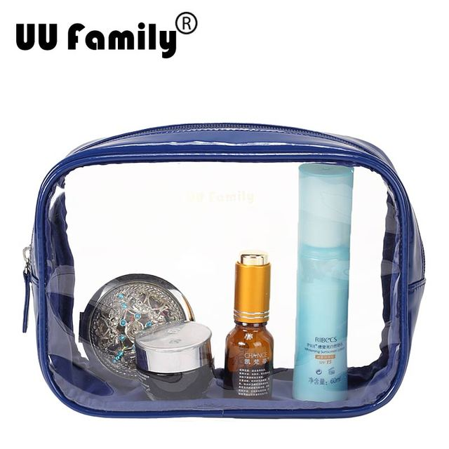 0fe50a689 Bolso de verano para la playa marca UU Family, monedero neceser  transparente para cosméticos,