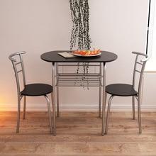 LK629 высокое качество журнальный столик набор креативные современные обеденные столы с двумя стульями ресторан кафе стулья мебель для дома