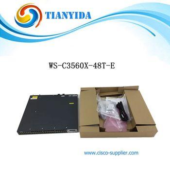 New WS-C3560X-48T-E Gigabit Ethernet Switch 10/100/1000Mpbs Ethernet Network Switches Hub LAN звезда задняя a2z для кассеты shimano 11 скоростной 48t алюминий золотистый ad 48t 6