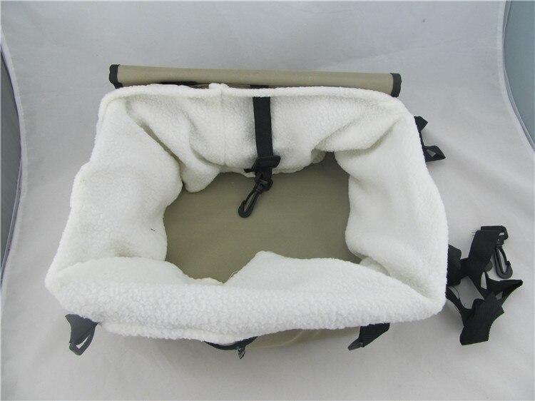Собака Автокресло собака сумка для коляски Портативный автомобиль для перевозки домашних животных детское сиденье с Clip-On Детская безопасн...