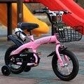 Chi Tong детский велосипед для мальчиков 12 дюймов От 2 до 9 лет детский велосипед для мальчиков и девочек