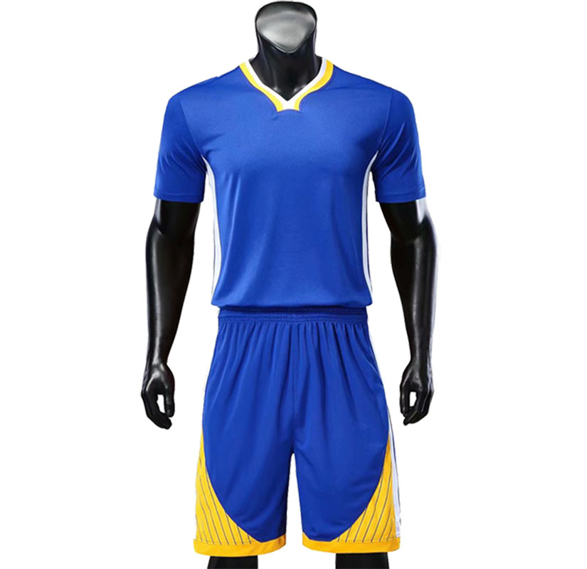 Youth V Neck Basketball Sets Boys Short Sleeve Jerseys Women Running Suits Sports Kits Customize Any Logos And Name