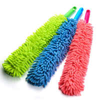 Bendable Chenille Microfiber Duster Cleaner Handle Flexible Washable Clean the Dust Furniture for Ceiling Fans Car Brush