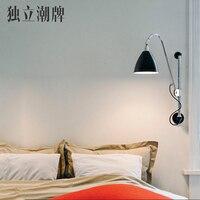 Классический скандинавский Лофт промышленный стиль регулируемый jielde настенный светильник Винтаж Бра Настенные светильники светодио дный