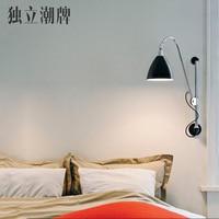Classic Nordic loft industrial style adjustable jielde Wall Lamp Vintage sconce wall lights LED for living room bedroom bathroom