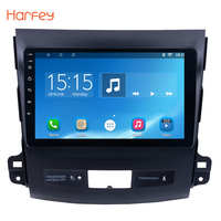 Harfey 9 Android 6,0 Wifi автомагнитолы Радио Аудио gps мультимедийный проигрыватель для 2006 2007 2008 2009 2010 2014 MITSUBISHI Outlander