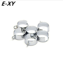 E-XY Ego Battery metal Ring For Ego Lanyard Vaporizer Holder eGo Necklace String Ring for eGo  Electronic Cigarette ring