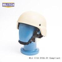 MILITECH DE NIJ IIIA 3A MICH Bullet Proof Helm Aramid ACH Ballistic Helm Kugelsichere Mitch 2000 Helm Mit Prüfbericht-in Schutzhelm aus Sicherheit und Schutz bei