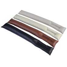 Faux Leather Car font b Seat b font Gap Pad Fillers Holster Spacer Auto Clean Slot