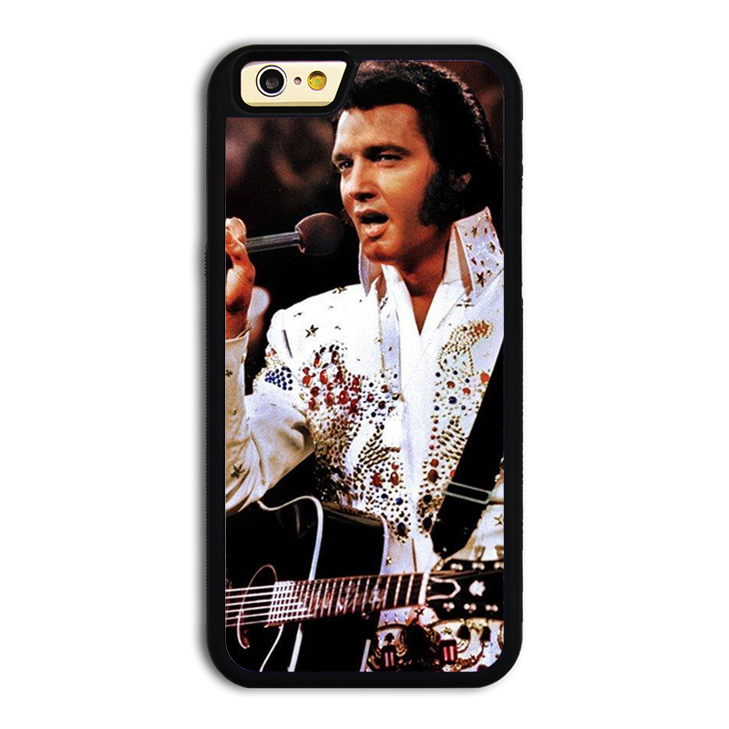 best website 2b569 8e4ad US $10.99 |Cool Rock Star Elvis Presley #3 mobile phone battery case cover  for iphone 6plus cases covers TPU phone cases silicon phone case on ...