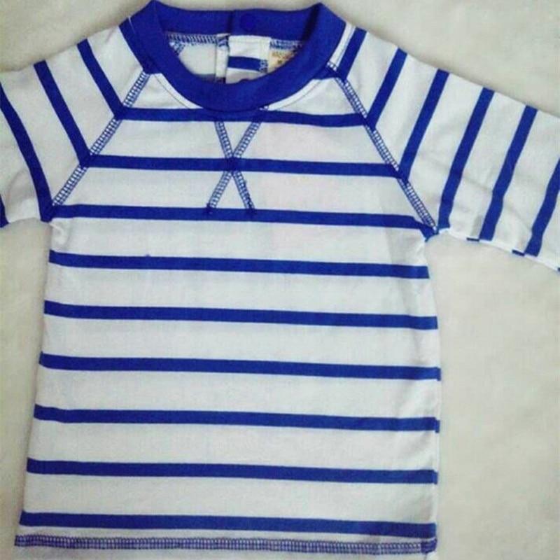 pasgeboren baby boy kleding sets katoen Gestreepte t-shirt + denim - Kinderkleding - Foto 5