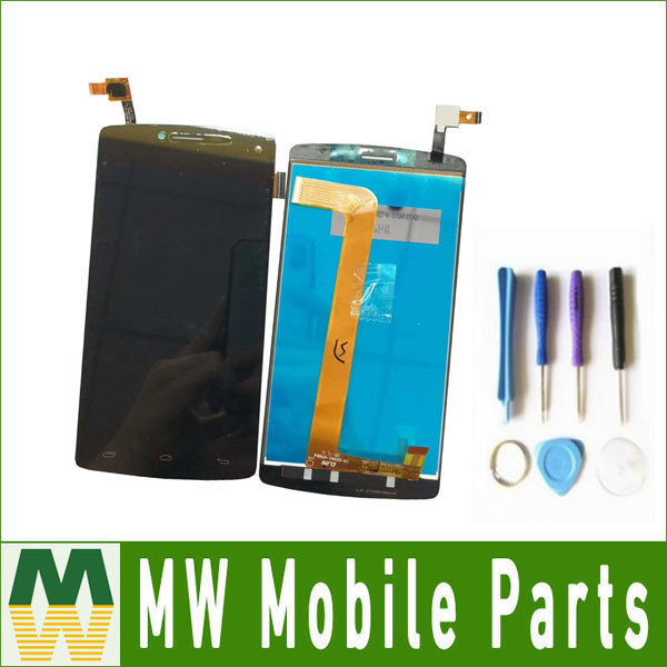 1PC/Lot 5.5For Prestigio MultiPhone PAP5550 PAP 5550 DUO Touch Screen Digitizer And Lcd Screen Assembly Black Color