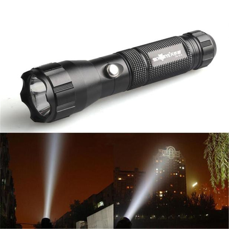 Lights & Lighting Fine 2 Colors 3 Modes Led Flashlight Torch Lamp Torch Q5 Led 18650 Battery Outdoor Wholesales 2017 #oom19fnfnfn Volume Large