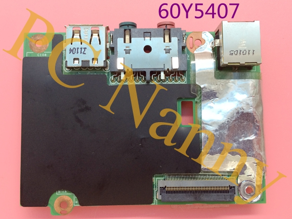 Genuine For Lenovo Ibm ThinkPad X201 X201s X201T X201i audio board ethernet board usb board 60Y5407