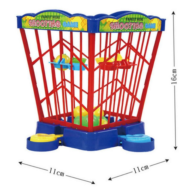 Children s educational pinball machine basketball cage desktop game parent child interactive competition pinball game