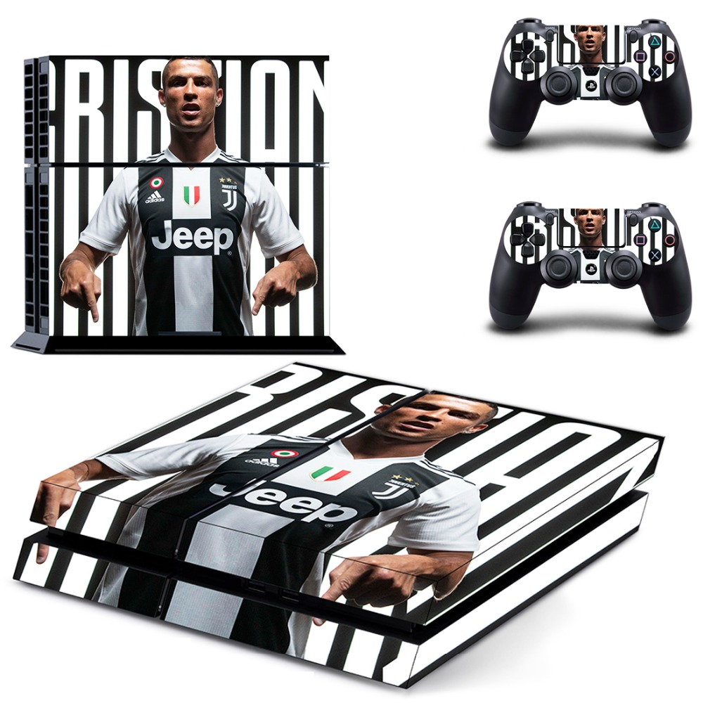 Reasonable Football Star Cristiano Ronaldo Cr7 Ps4 Skin Sticker Decal For Sony Playstation 4 Console And Controllers Skin Ps4 Sticker Vinyl Exquisite (In) Workmanship