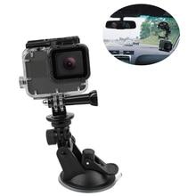 Mini Action Camera Suction Cup for GoPro Hero 7 5 6 4 Sony SJCAM SJ7 Yi 4K H9 Go Pro 7 Mount Window Glass Sucker Accessory цена и фото
