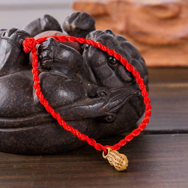 ファッション赤文字列のブレスレット編組ロープハムサ邪眼女の子のための魚の心臓スターデビッドの魅力の手ジュエリー