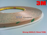 1x 10mm 55M 3M 9495LE 300LSE Super Strong Sticky Double Sided Adhesive Tape For LCD Lens