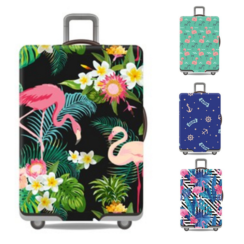 Travel Suitcase Protective Covers Luggage Case Cover Travel Accessories Elastic Luggage Dust Cover Apply to 19''-32'' Suitcase