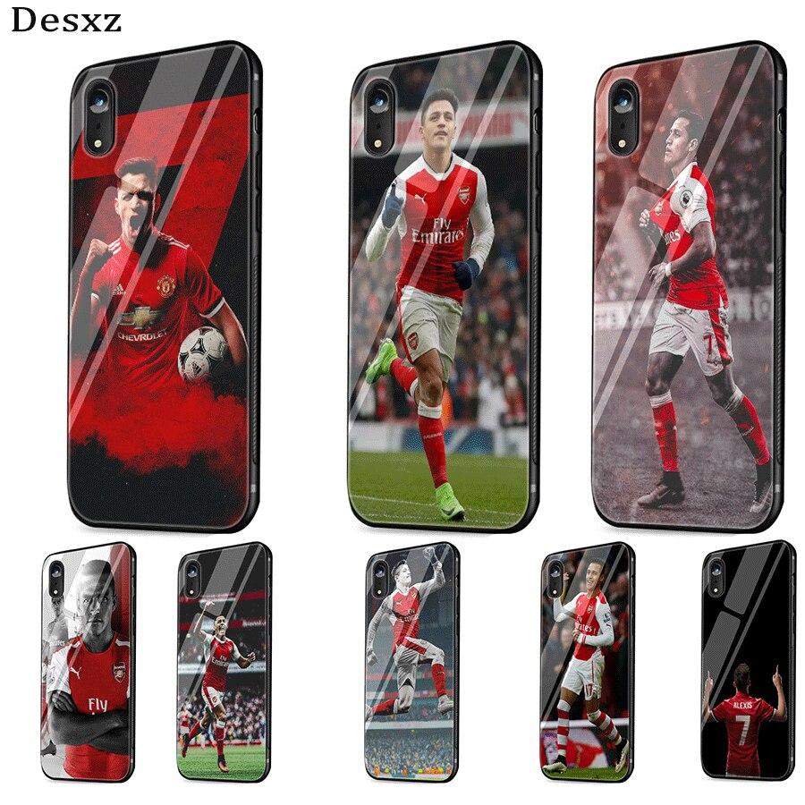 alexis sanchez 7 soccer star TPU Case for iPhone 11 Pro XR X XS ...