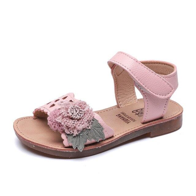 277e2f0c9e74ec COMFY KIDS 2019 New Arrivals Sandals For Girls Baby Shoes Size 21-30  Fashion Summer Flower Girls Sandals Shoes Princess Shoes