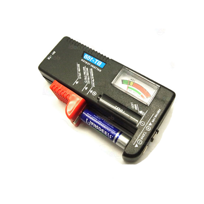 Aa aaa c d 9v 1 5v universal button cell battery volt tester checker battery conditional
