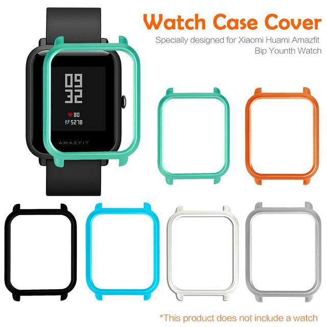Корпус для часов Amazfit Bip Youth Smart протектор для часов чехол тонкая красочная Рамка PC чехол защитная оболочка для Xiaomi Huami
