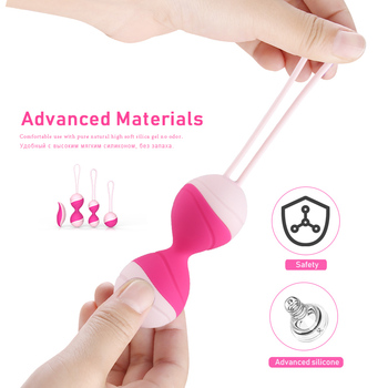 Vibrating Eggs Wireless remote control jump eggs silicone vibrator kegel balls exercise Vagina Tigthen Adult sex Toys for women 5