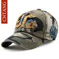 Cntang marca hombres mujeres gorra de béisbol de camuflaje deportes al aire libre sombrero del snapback hueso gorras de verano bordado de la manera para unisex gorras