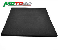 Motorcycle Race Racing Foam Seat Pad Adhesive 2cm Thick Black Universal Fit