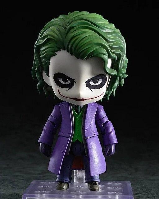 Batman Action Figure Joker Nendoroid Oyuncaklar Yarasa Adam Japon Anime Rakamlar Koleksiyon Model Oyuncak  Mm