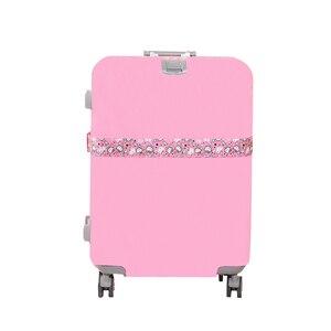 Pink Hello Kitty Nylon Luggage