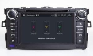 Image 5 - HIRIOT Android 10 AUTO DVD GPS Player Für TOYOTA AURIS 07 11 Octa 8 Core 4GB + 64GB + DSP Navigation BT WIFI Multimedia Stereo Auto