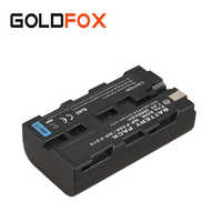 7.2V 2600mah For Sony NP F550 F570 NP-F550 NP-F570 Rechargeable Digital Battery Camera Li-ion Batteries Backup Spare Bateria