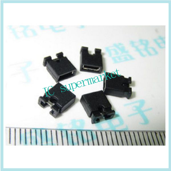 Spacing of 2.54 mm jumper cap short circuit block connection block (100) (2000 / package / 24)