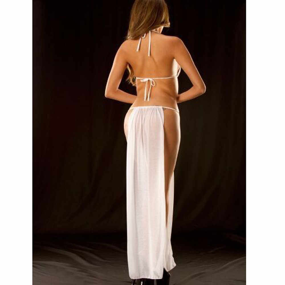 Feitong caliente Sexy Lencería erótica para mujeres señoras de la ropa interior transparente de encaje vestido ropa para dormir vestido Babydoll Sexy, disfraces, 2020 nuevo