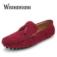 Men Loafers Casual Breathable Fashion Designer Genuine Leather Slip On Moccasins Driving Shoes Zapatos Hombre Gommini Chaussures