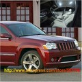 Envío Gratis 12 unids/lote White Interior Luces LED Para Jeep Grand Cherokee 2005-2010