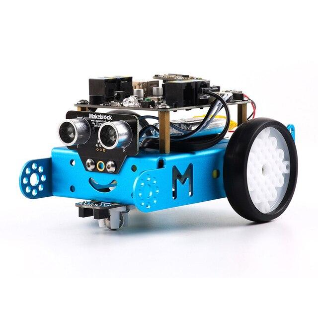 Bluetooth Makeblock Mbot Программируемый Дети Toys Educational Нуля 2.0 Arduino DIY Умный Робот Автомобильный Комплект Подарок на день рождения