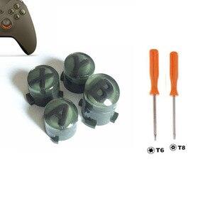 Image 5 - Personalizado para xbox um controlador de elite magro kit botão abxy botões bala peças reparo mod kit substituição com t8 t6 parafuso driver