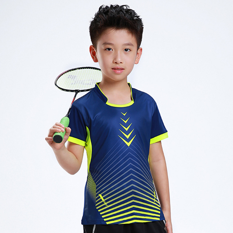 Children S Youth Sports: Free Printing Children Badminton Shirt Boy , Girl Sports