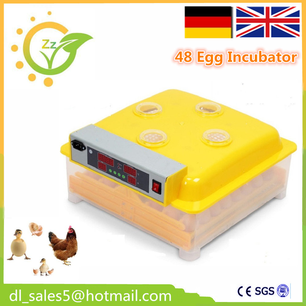CE approved full automatic small chicken incubator 48 eggs for sale new 39 eggs full automatic incubator