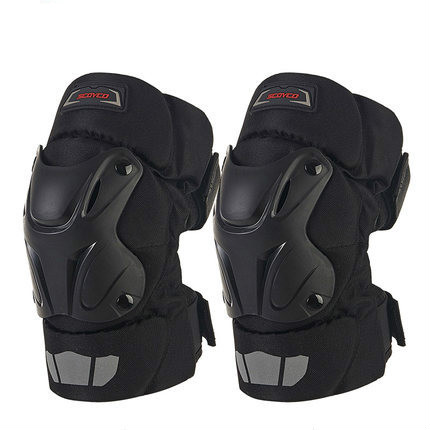 K15/K15-2 Auto Racing PP Shell Knee Pads Protective Gear Off Road Motorcycle Motocross Outdoor Sports Safety Protector
